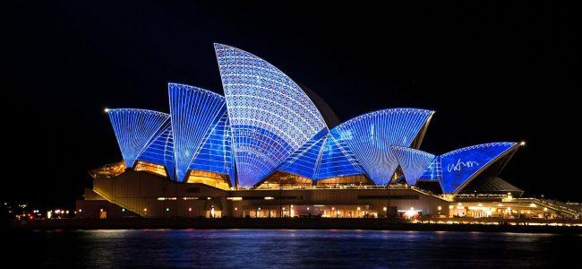 ancienne réunion d'équipe et voyage à Sydney